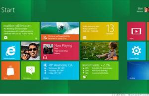 Windows 8, Metro Style